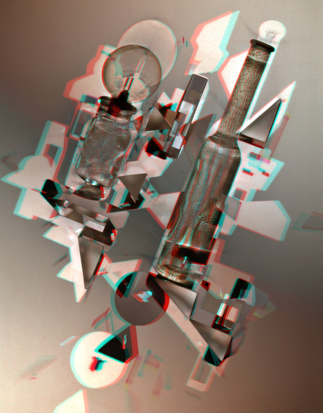 Prisms & Bottles #2 by Paul Aaron Johnson
