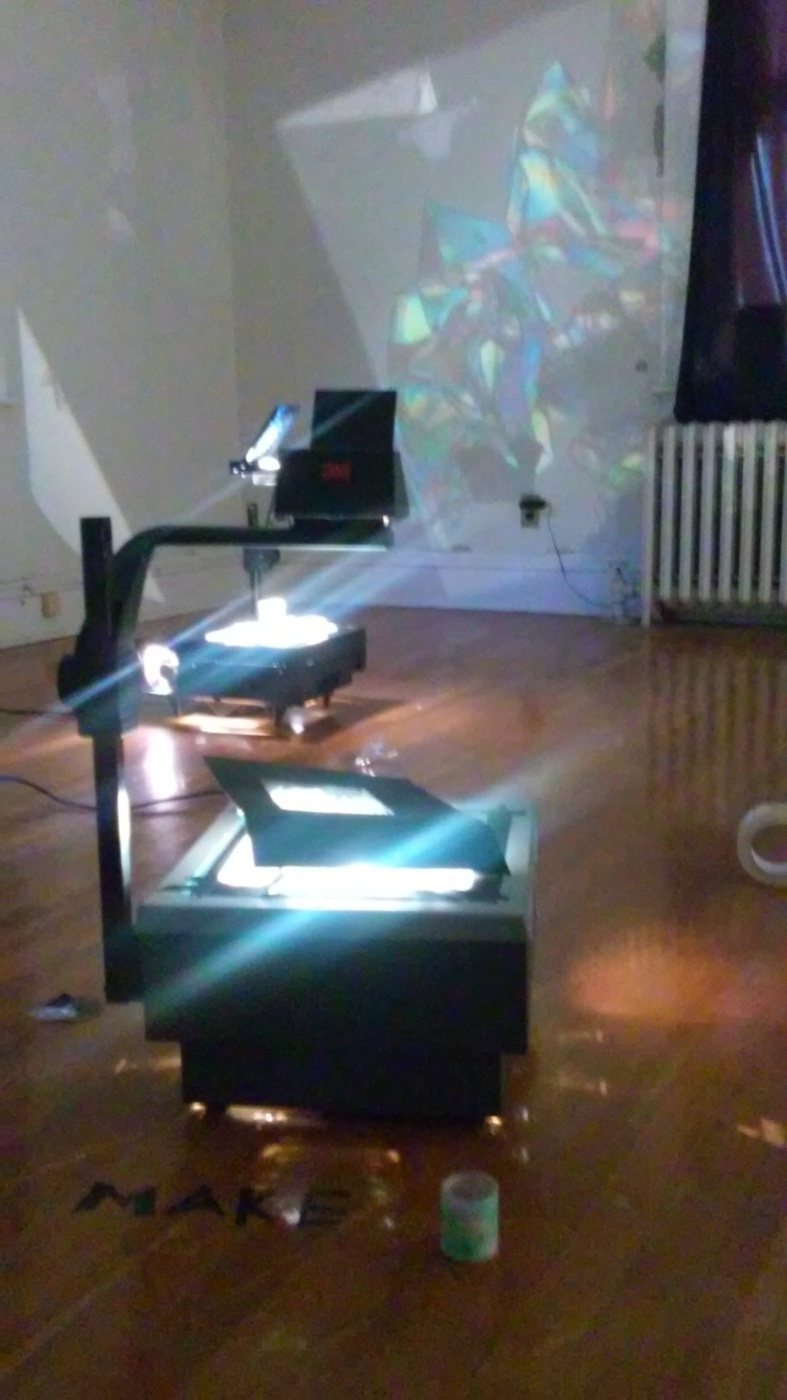 Make & Play Polarized Sticktape sculptureworkshops