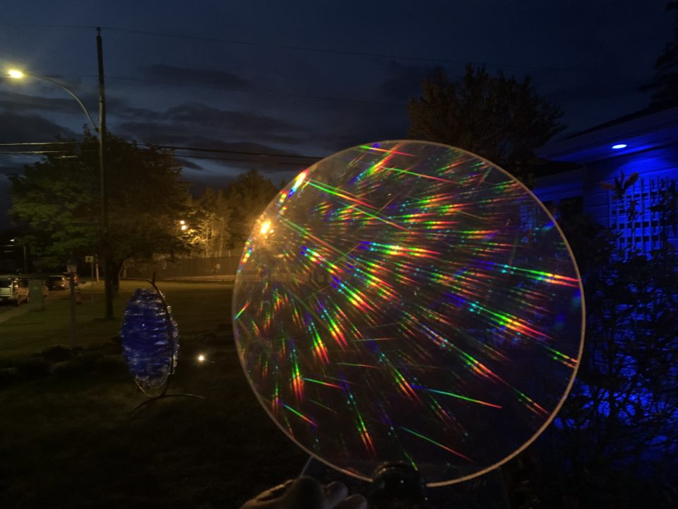 Philippe Boissonnet Lightscape in Trois-Rivieres, Holographic Optical Element
