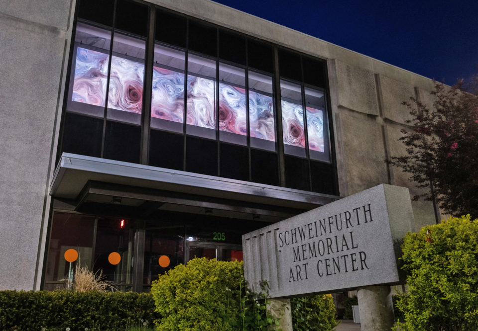 Lorne Covington and Gerri Spilka Threads of Light at Schweinfurth Art Center