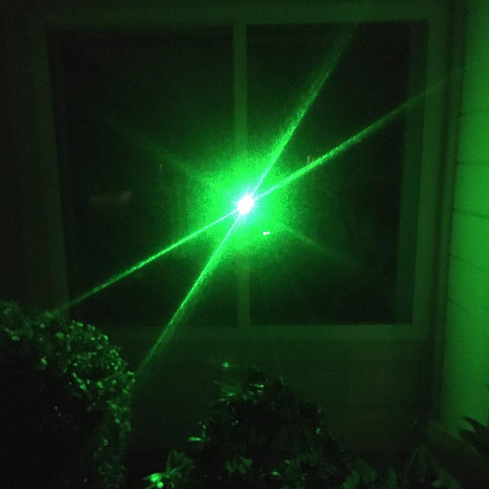 Eric Leiser laser sun Light windows installation