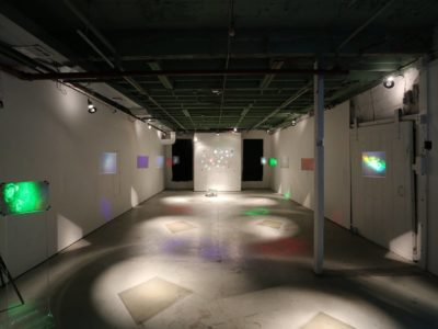 Eric Leiser Holonomic Holocenter at Flux Factory