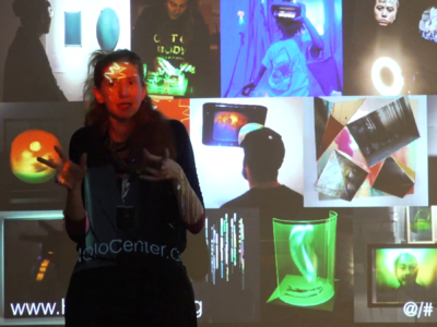 History of the Future of Holographic Art