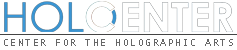 Logo of holocenter - Center for the Holographic Arts