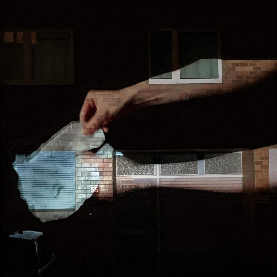 Johanna Reich #artfromthewindow projection
