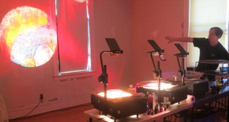 Steve Pavlovsky liquid light show