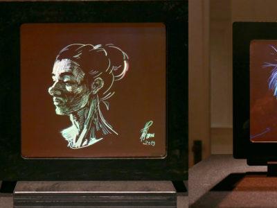 Ioana Spectral Figures digital holograms
