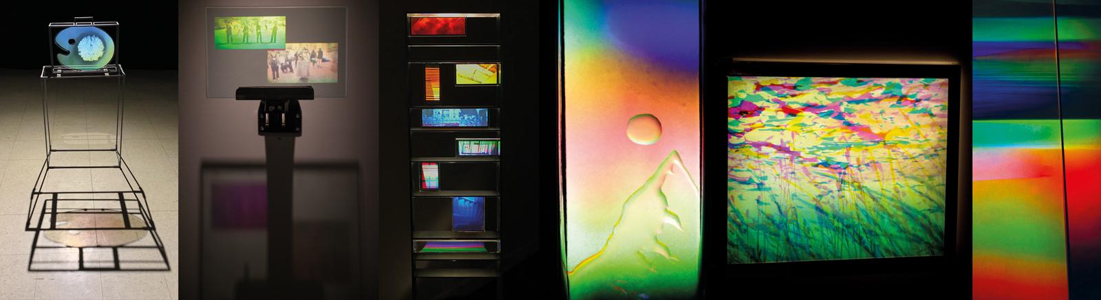 iridescence art holograms