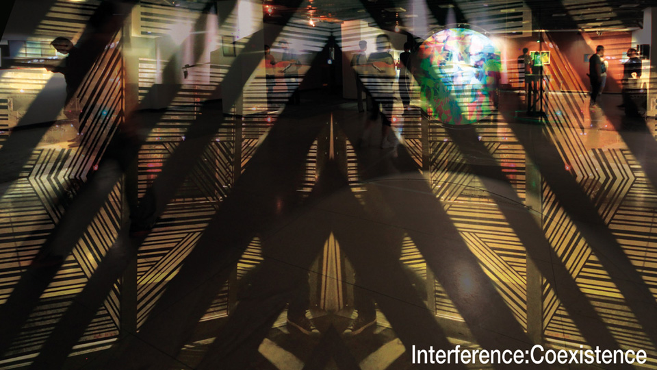 Cover of Interference:Coexistence exhibition catalog