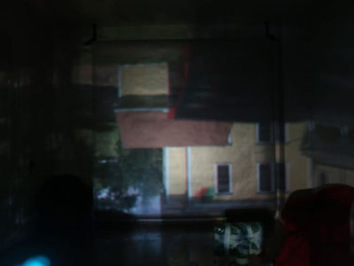 Jose Vargas 3D camara obscura at th HoloCenter on Governors Island