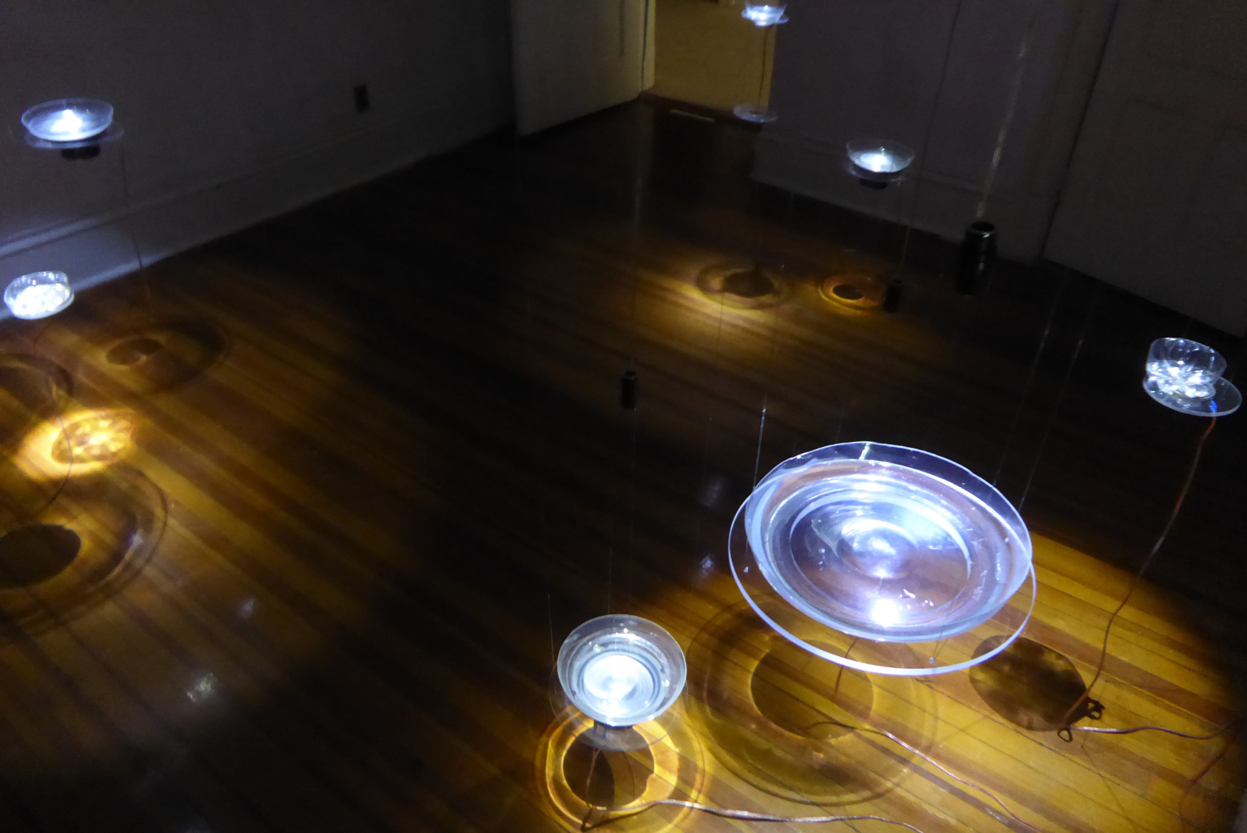 Lorraine Beaulieu Lifestream installation in Artist Photonics at the HoloCenter on Governors Island