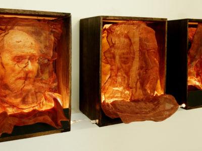 Lori Horowitz installation in Space Light