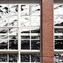Jenna Eriksen video installation Flow LIGHT WINDOWS Centre for projection Art Collingwood