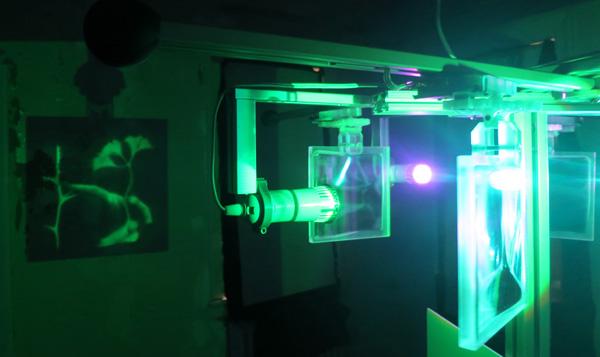 Lumographic projection, Matt Brand, 2015