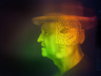 Hologram 'Shaman' by Micheal Bleyenberg