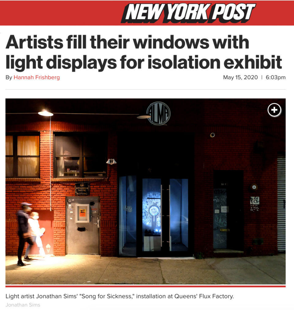 New York Post article on Light Windows COVID-19