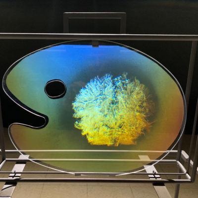 philippe boissonnet hologram artist holomemories in Iridescence