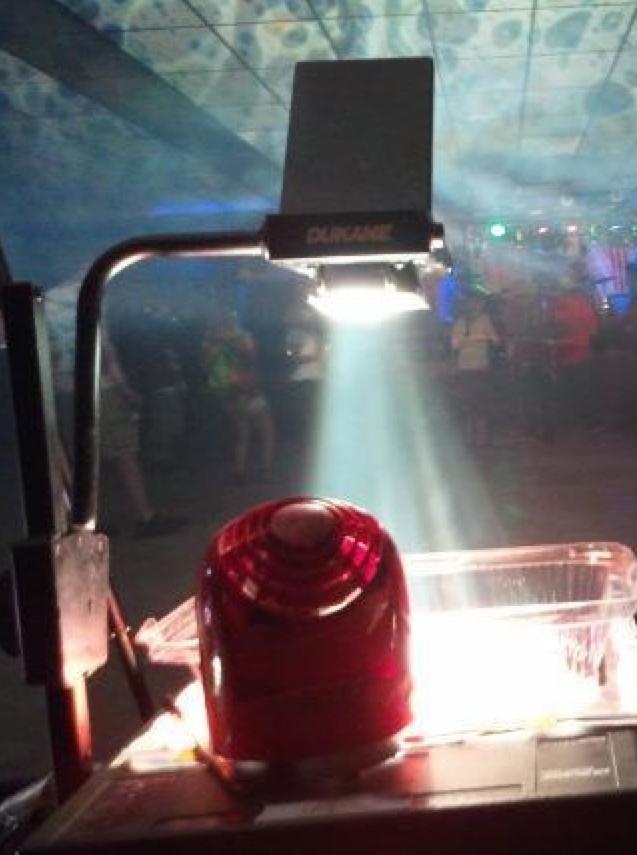 Steve Pavlovsky Liquid Light Show - Installation and workshops July 18/19 25/26