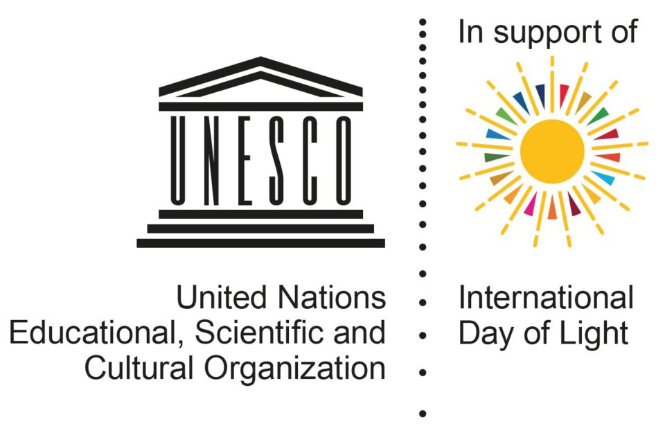UNSECO International Day of Light 2021 logo