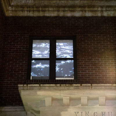 Wen-Han Chang Glare of Water projection for LIGHT WINDOWS
