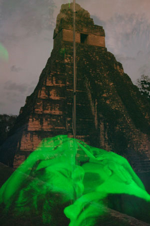 fossils_in_Tikal