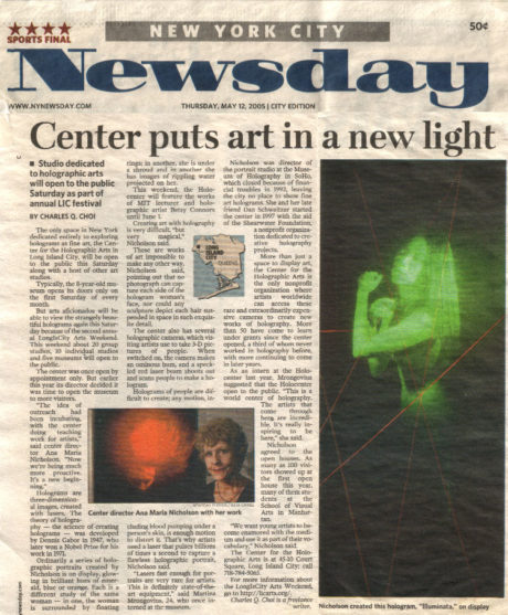 Newday cover holocenter
