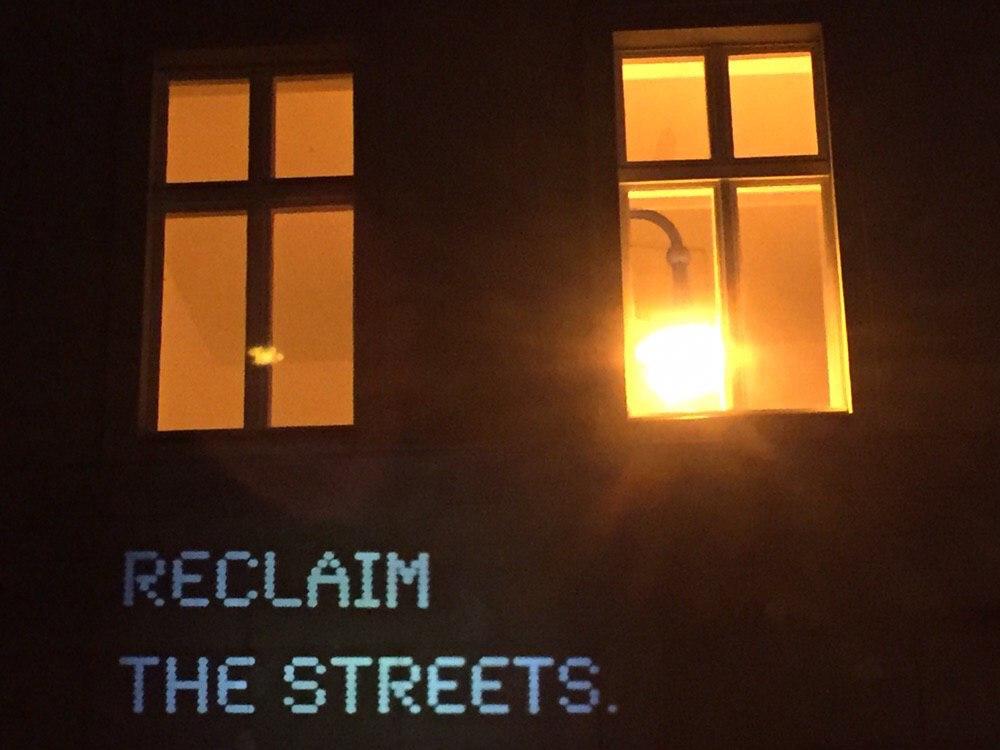 Rosa Wernecke Reclaim the Streets Light Windows Berlin
